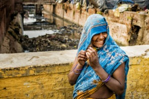 The Indian woman traditional rituals