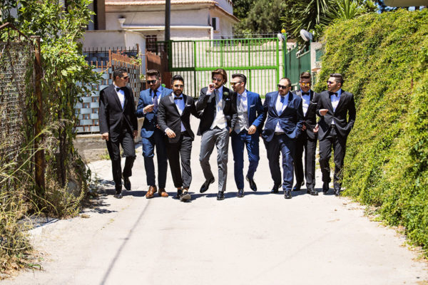 the groom's friends