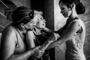 Wedding Moment Grandmother Pasquale Minniti