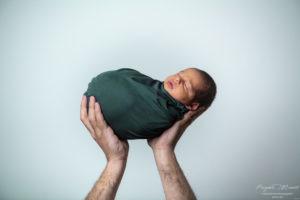 Newborn Foto Neonati in Sala Posa