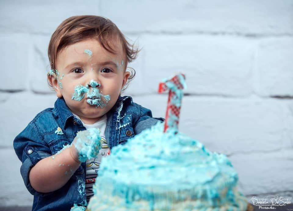 Smash the Cake servizio fotografico bambini Reggio Calabria